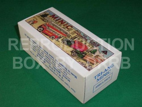 Minic #75M Ambulance - Reproduction Box ( Pre-war)